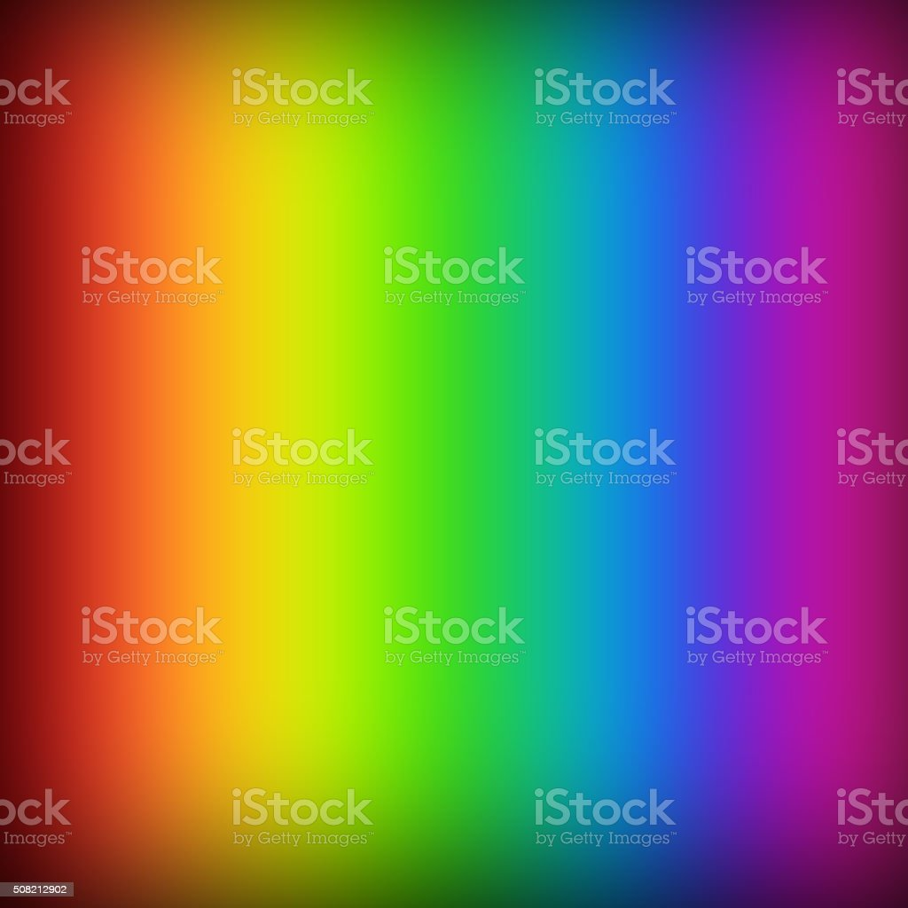 Colorful Abstract Background with Rainbow Colors vector art illustration