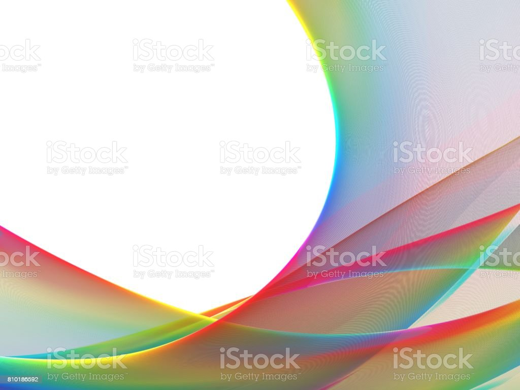 Colorful abstract fractal background, texture, illustration stock photo