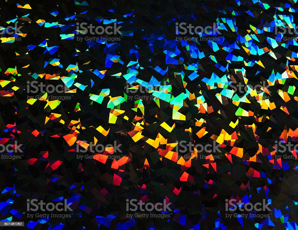 Colorful abstract light refraction background stock photo