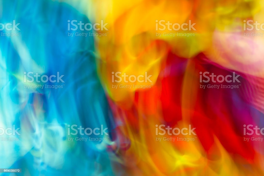 Colorful abstract light vivid color blurred background. stock photo