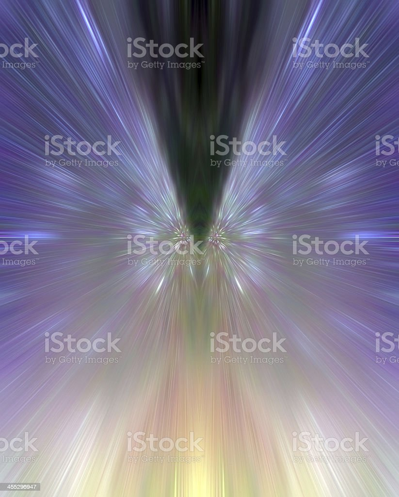 Colorful abstract reflection for background stock photo