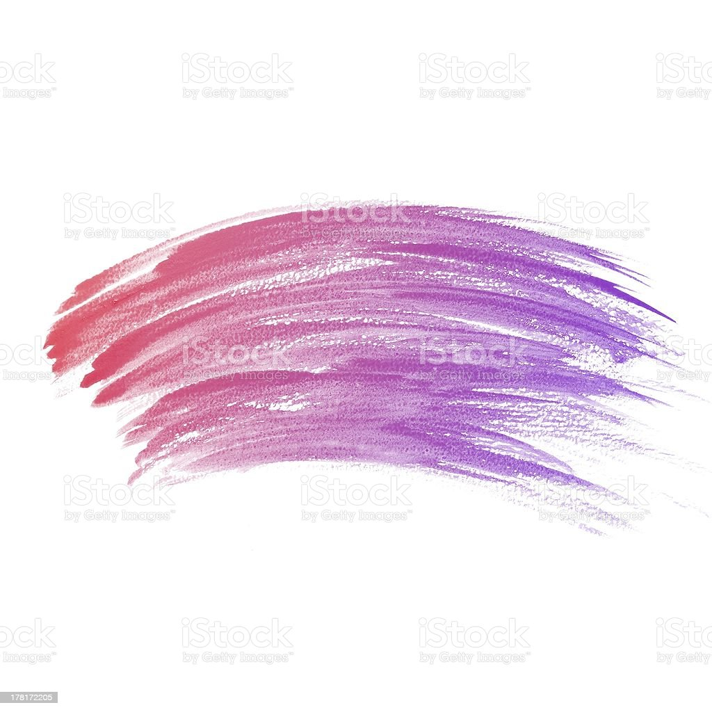 colorful Abstract water color painting background royalty-free stock vector art