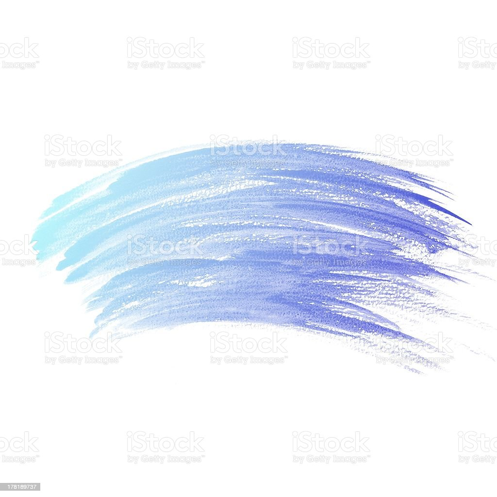 colorful Abstract water color painting background royalty-free stock photo