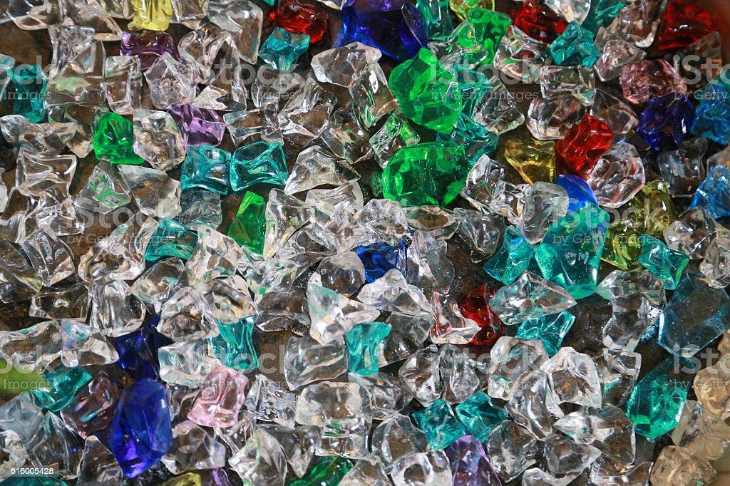 Colorful acrylic foto de stock libre de derechos