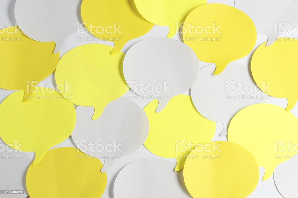 colorful adhesive notes royalty-free stock photo
