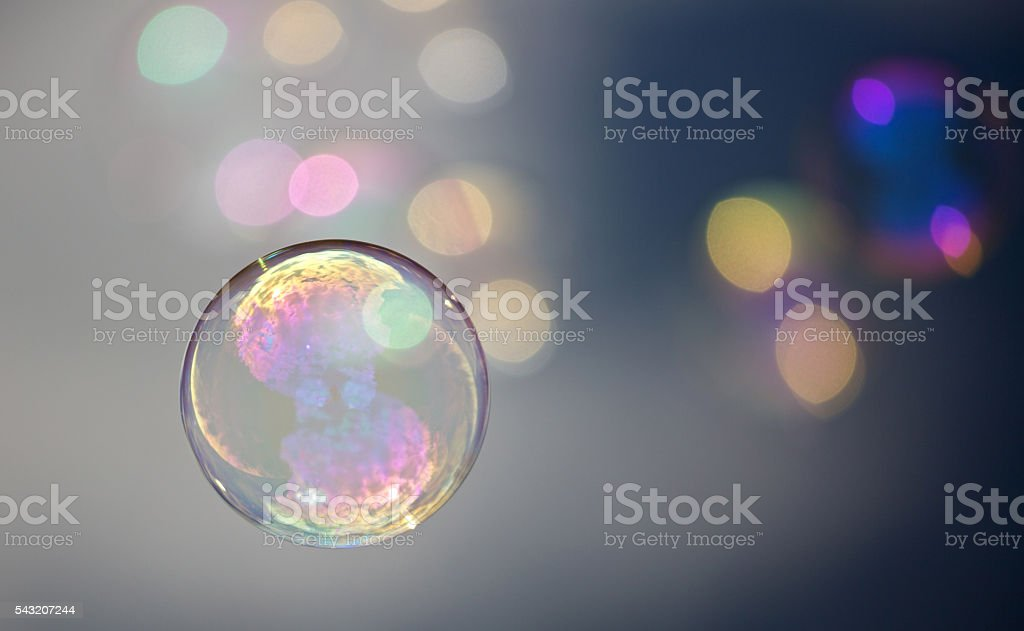 colorful air ball stock photo