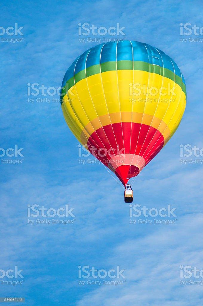 Colorful air balloon stock photo