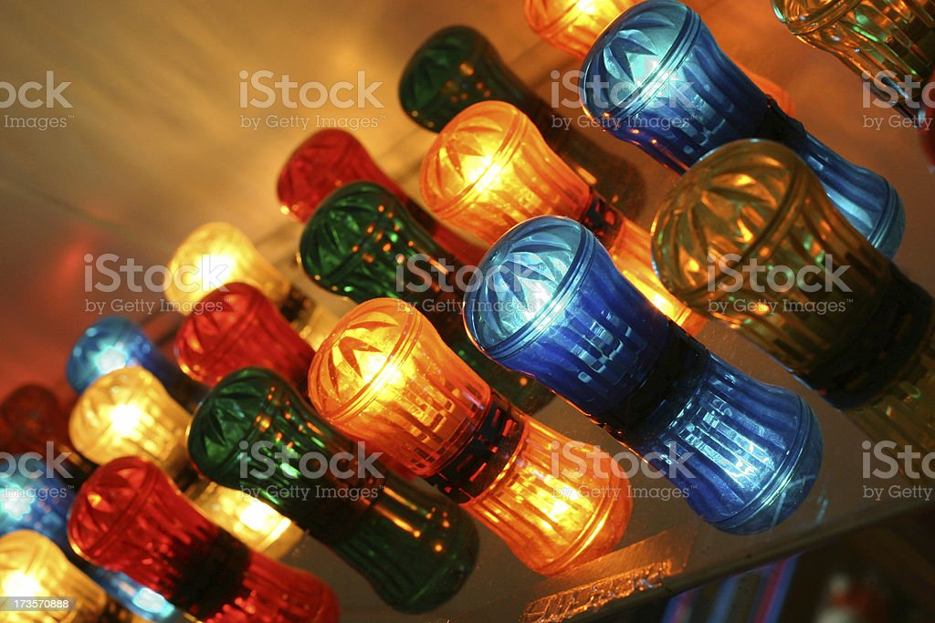 Colorful Arcade Lights royalty-free stock photo