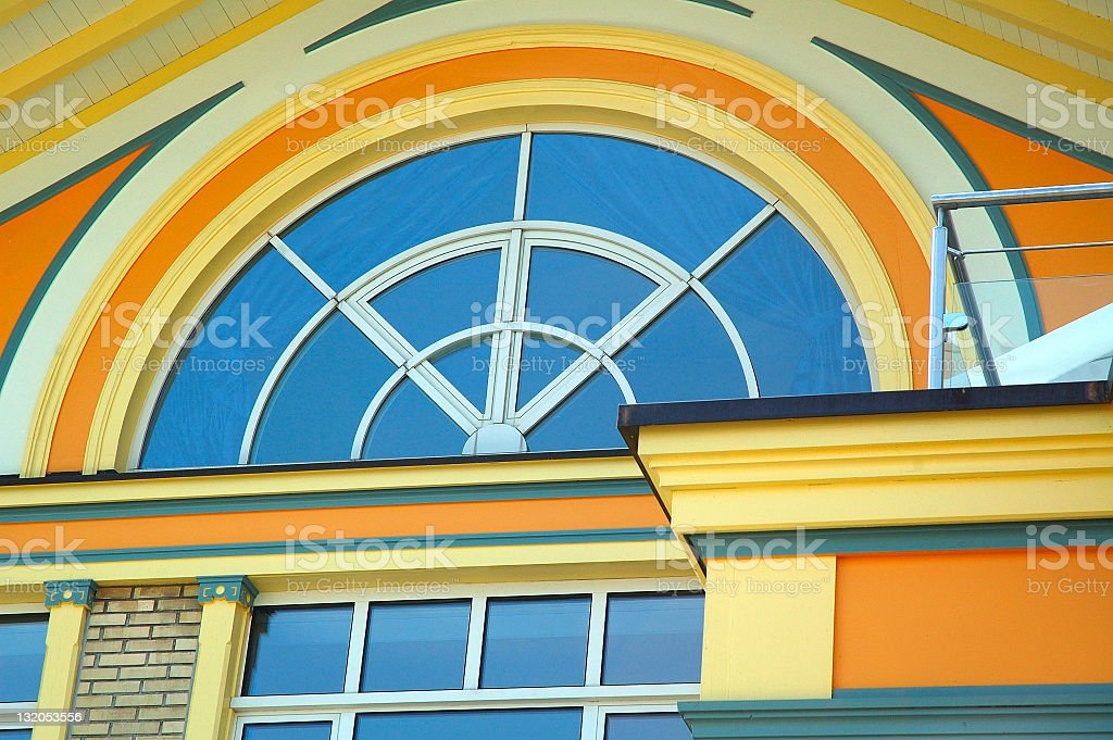 Colorful Arch royalty-free stock photo