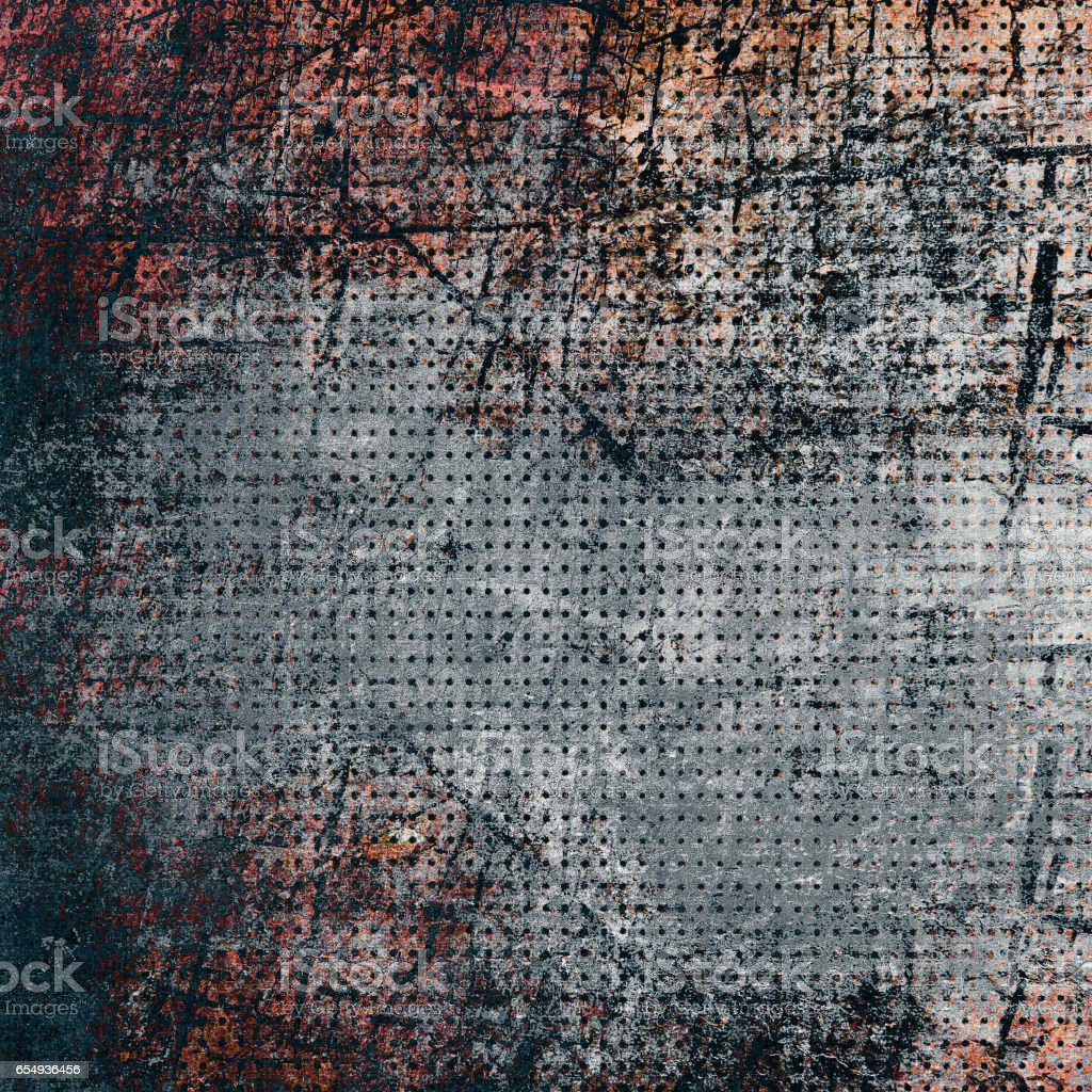 Colorful background, metal texture stock photo