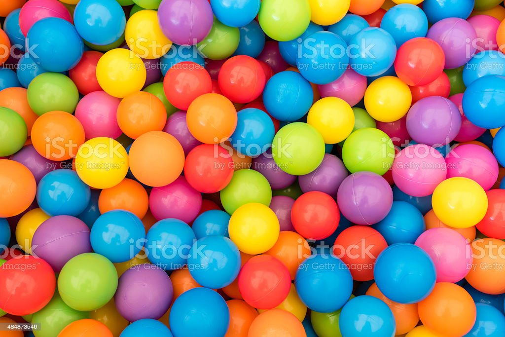 Colorful Ball Pit stock photo