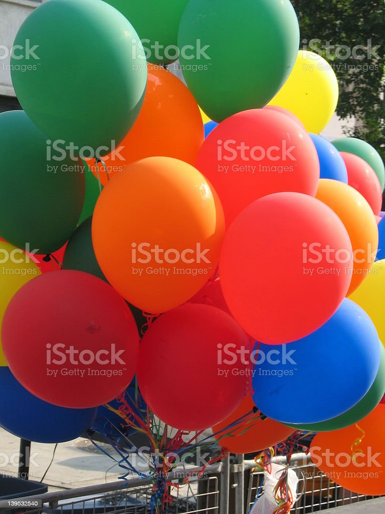 Colorful Balloons 2 stock photo