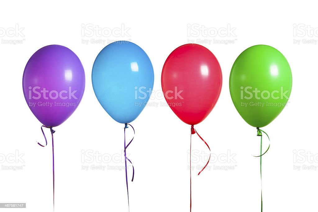 colorful balloons group royalty-free stock photo