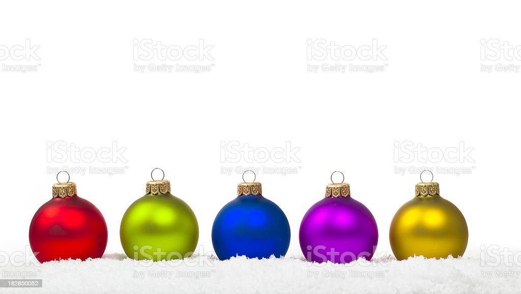 Colorful Bauble royalty-free stock photo
