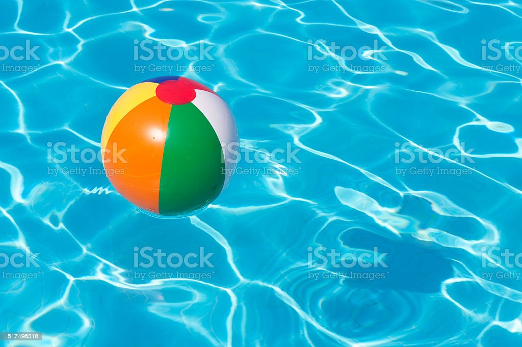 Pool Water With Beach Ball swimming pool ball pictures, images and stock photos - istock