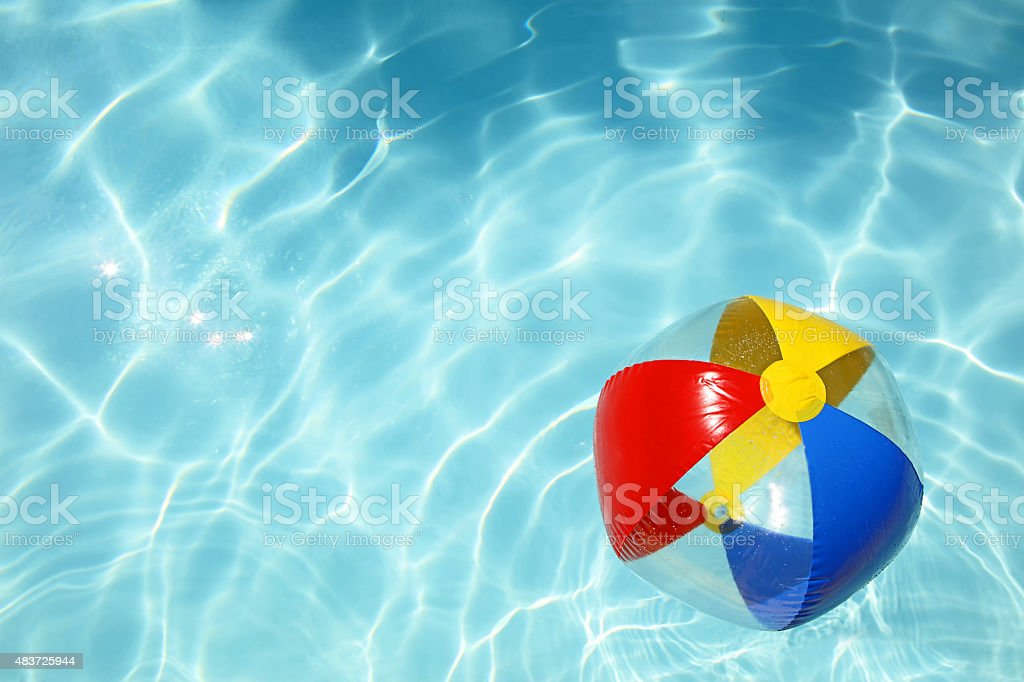 Pool Water With Beach Ball swimming pool summer swimming beach ball pictures, images and