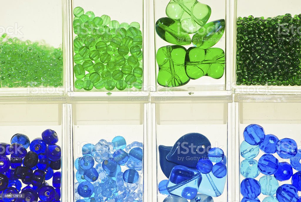 Colorful Bead Arrangement royalty-free stock photo
