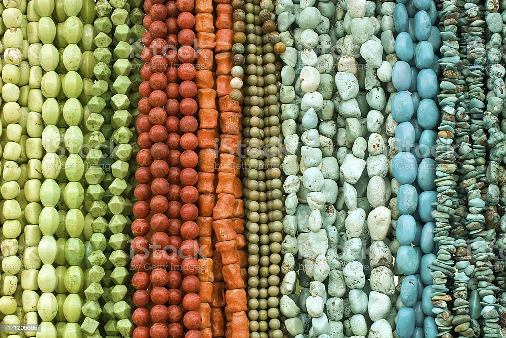 Colorful Beads stock photo