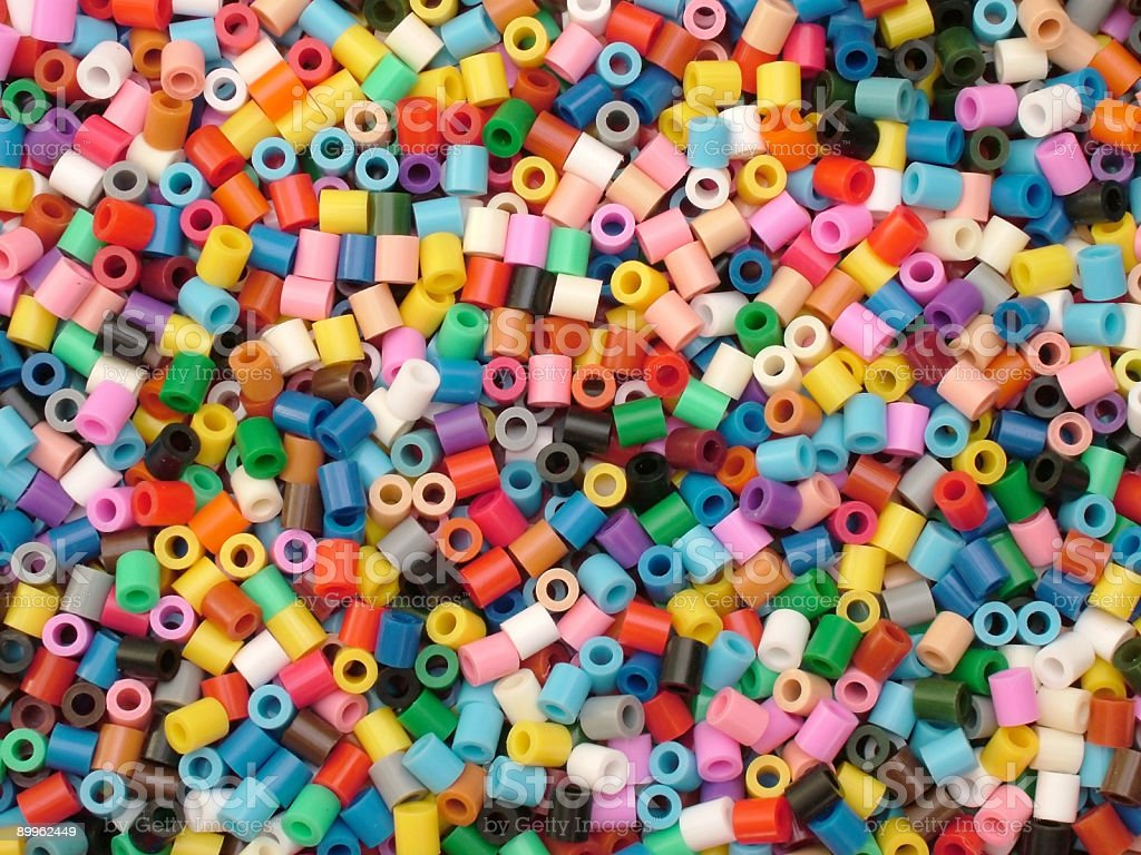 Colorful beads royalty-free stock photo