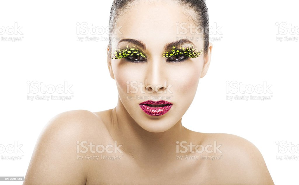 Colorful Beauty royalty-free stock photo