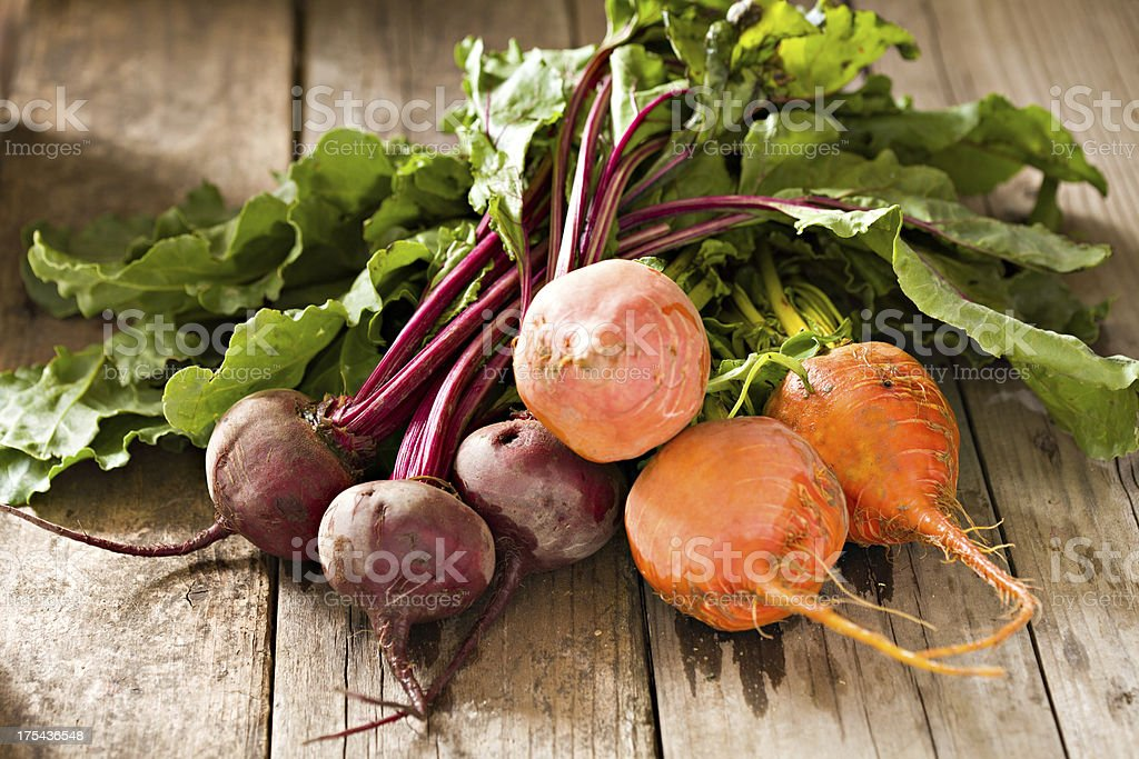 Colorful Beets royalty-free stock photo