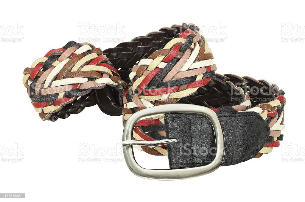 colorful belt royalty-free stock photo