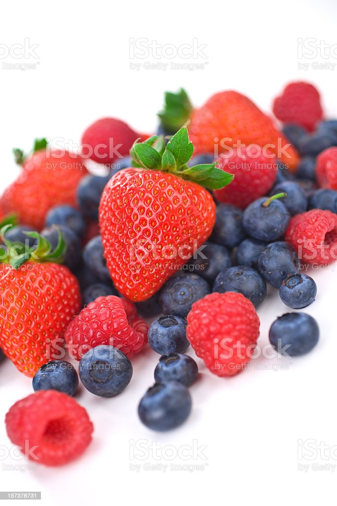 Colorful Berries stock photo