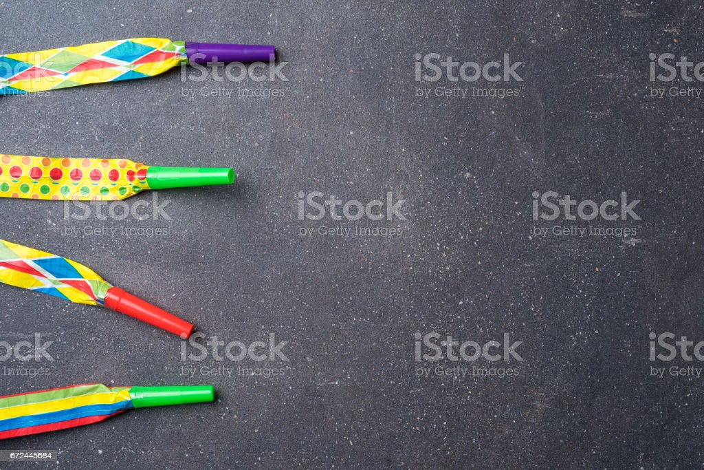 Colorful birthday or party background stock photo