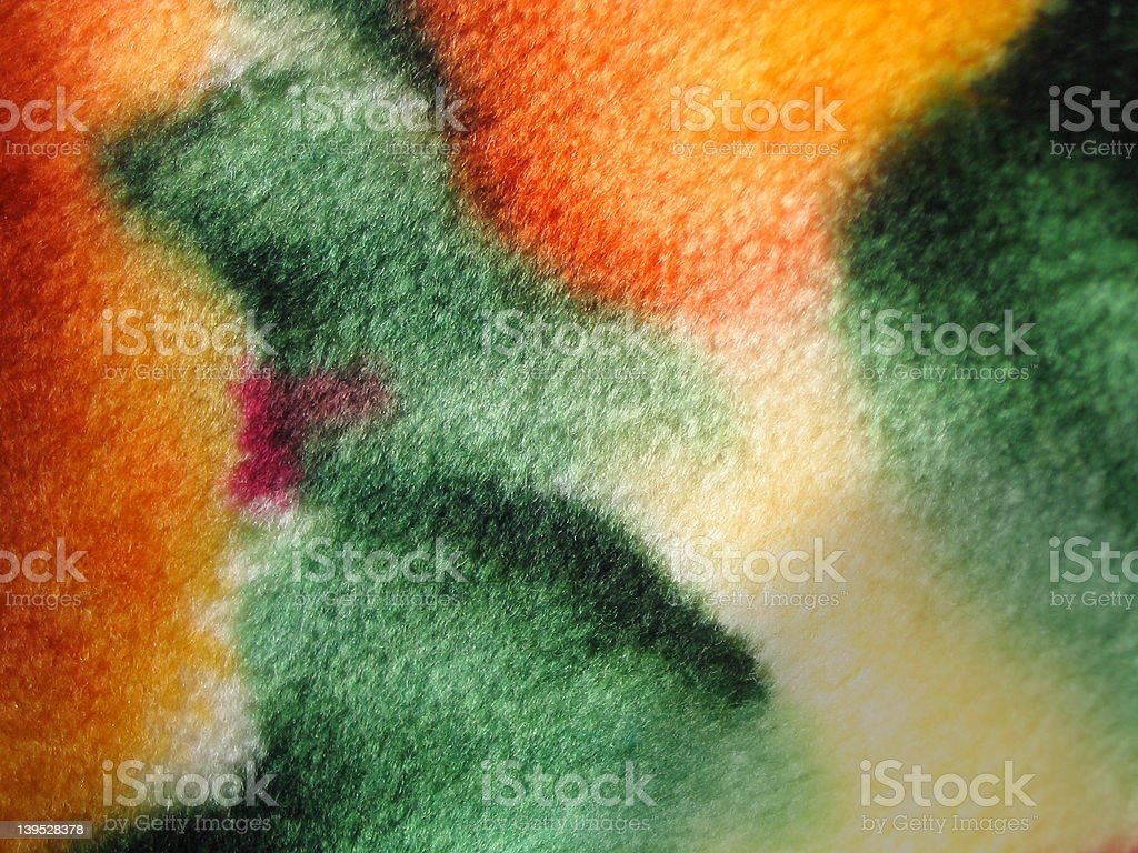 Colorful Blanket royalty-free stock photo