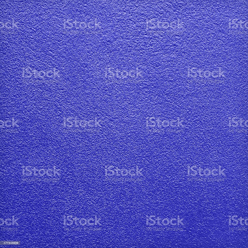 Colorful blue concrete wall stock photo