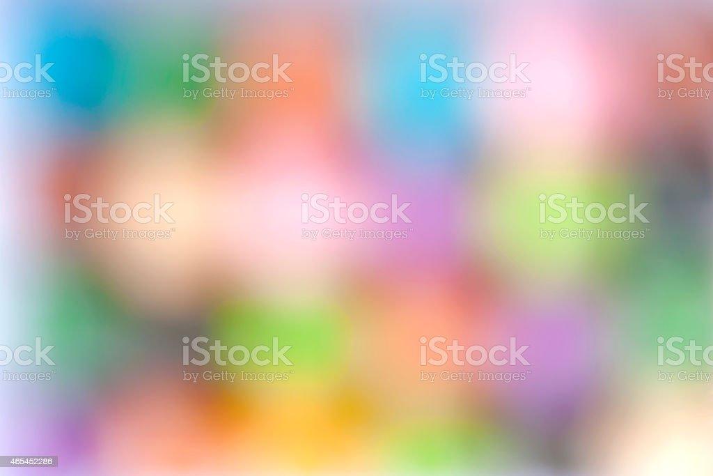 Colorful blur dot royalty-free stock photo