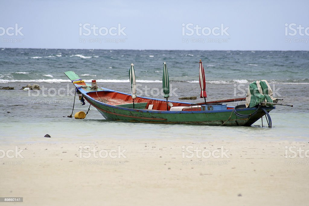 Colorful boat royalty-free stock photo