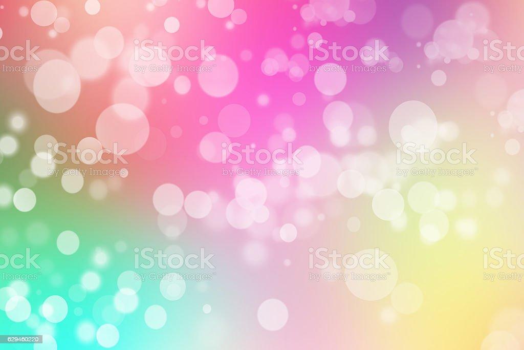 colorful bokeh background blurred bokeh wallpaper stock photo