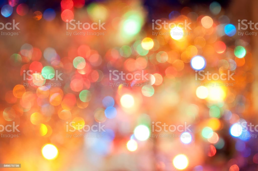Colorful bokeh background stock photo