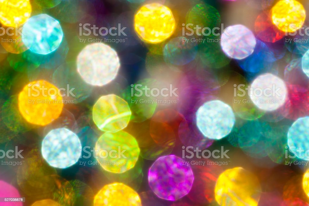 colorful  bokeh light background stock photo