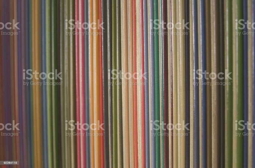 Colorful Books royalty-free stock photo