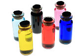 Colorful bottle
