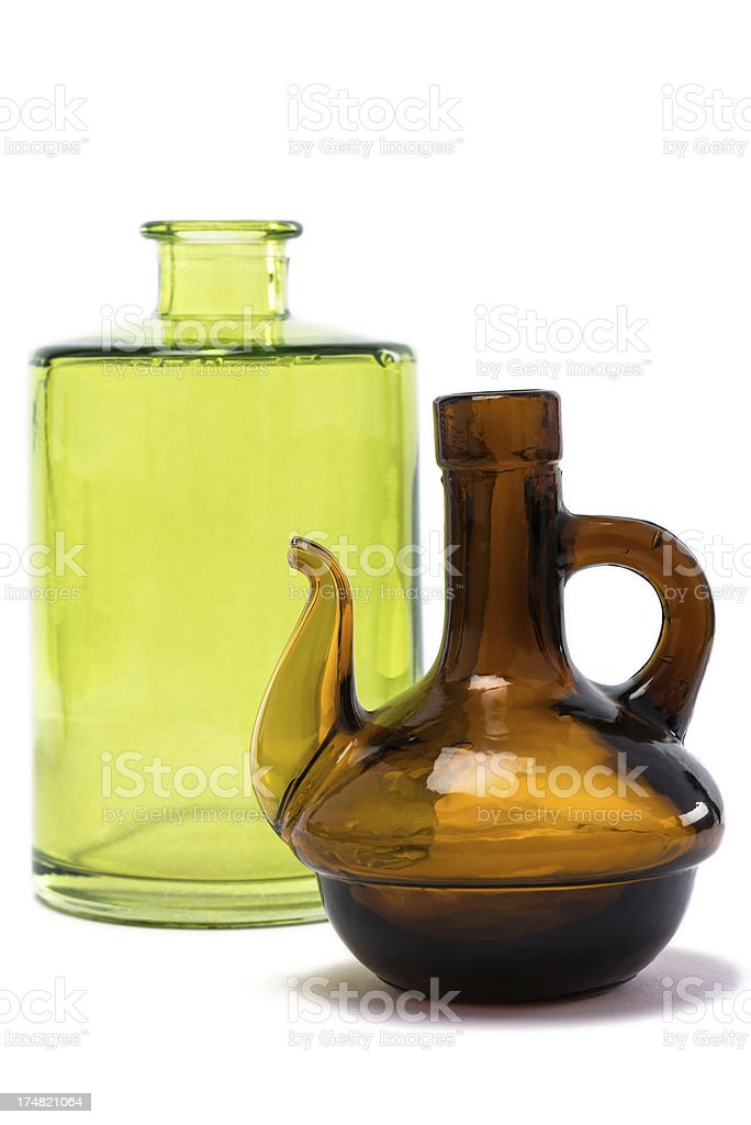 colorful bottles royalty-free stock photo
