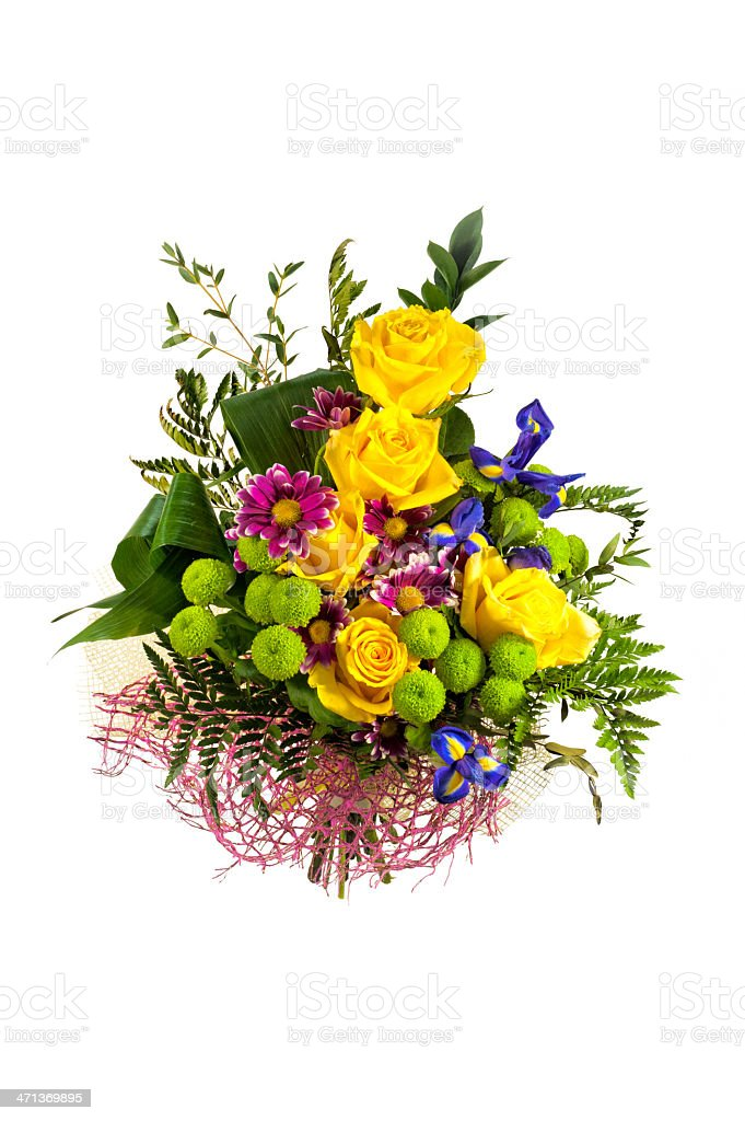 Colorful bouquet royalty-free stock photo
