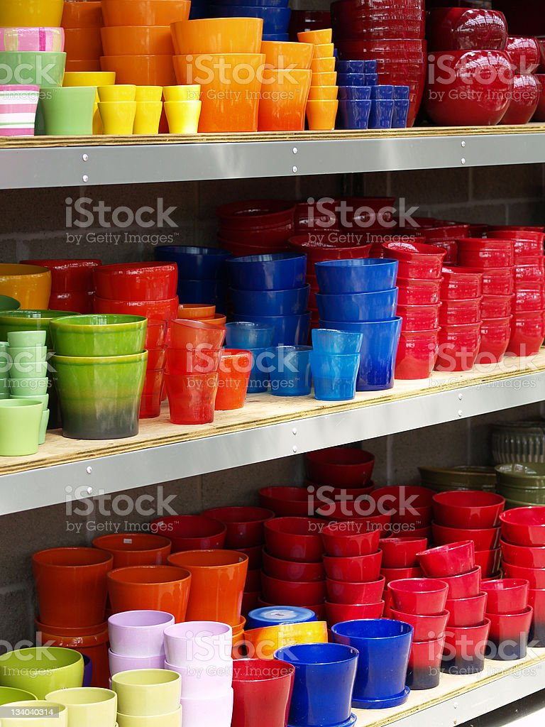 Colorful Bowls royalty-free stock photo