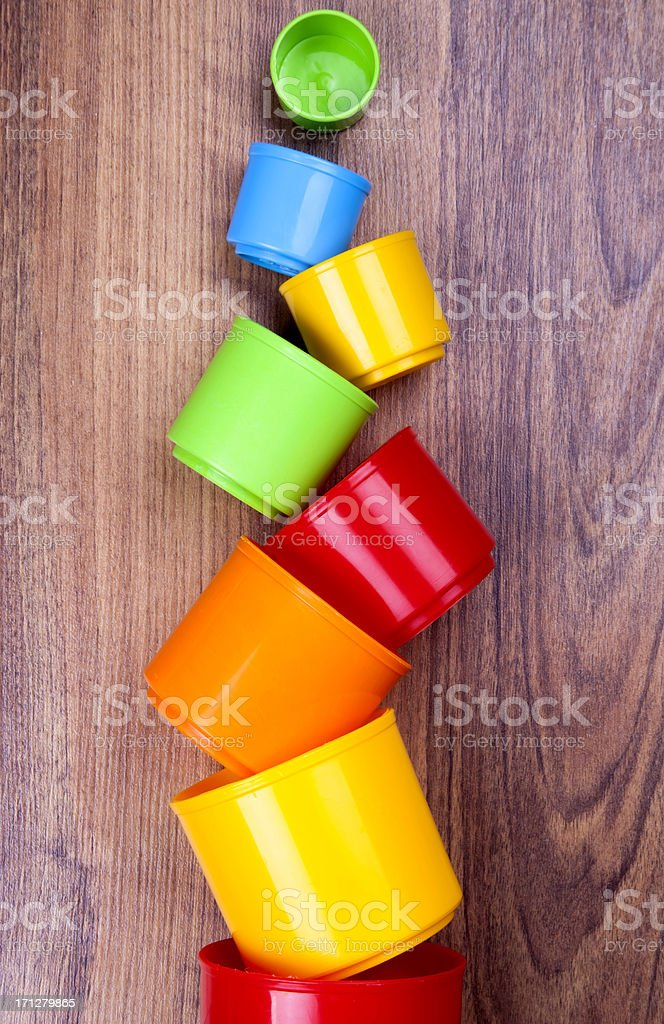 colorful boxes royalty-free stock photo