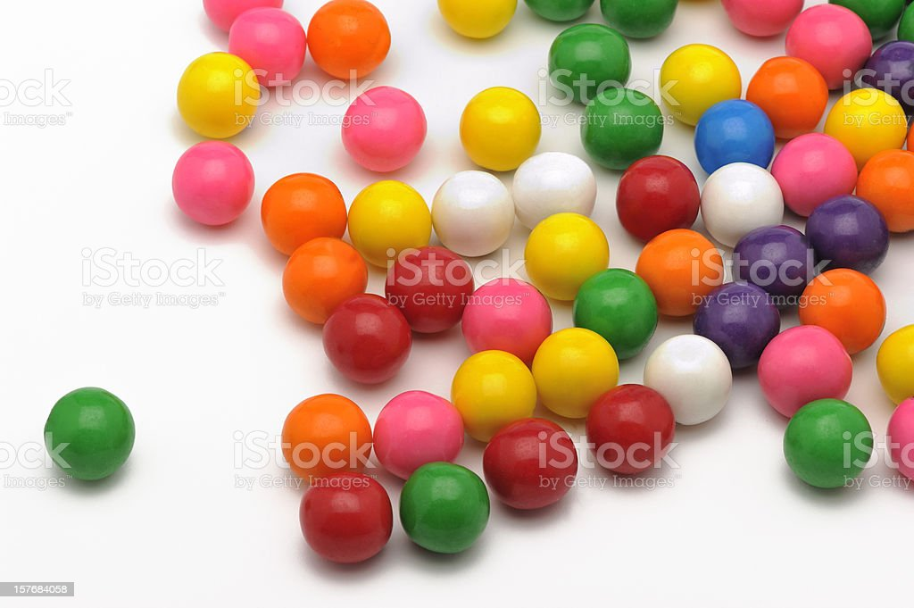 colorful bubble gum royalty-free stock photo