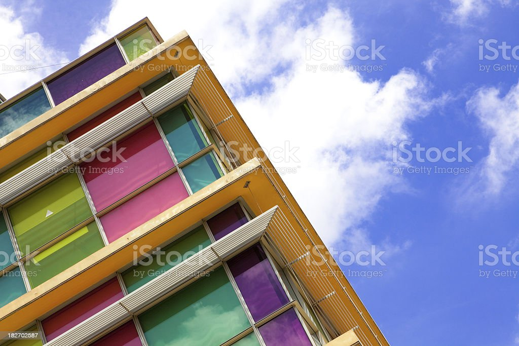 Colorful building royalty-free stock photo