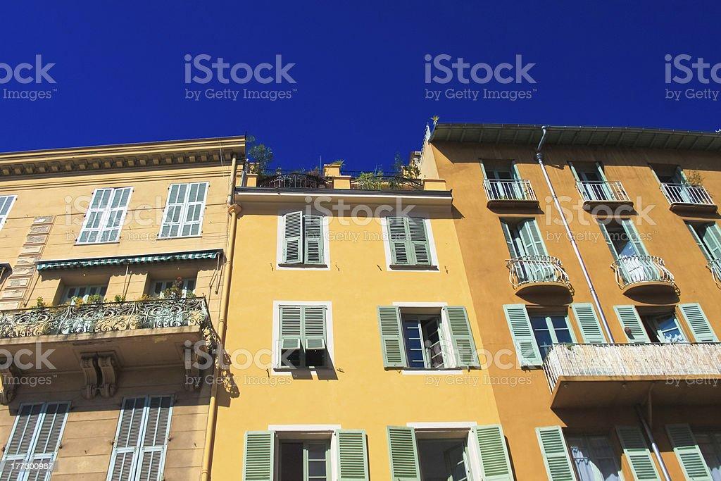 색상화 건물 및 blue sky royalty-free 스톡 사진