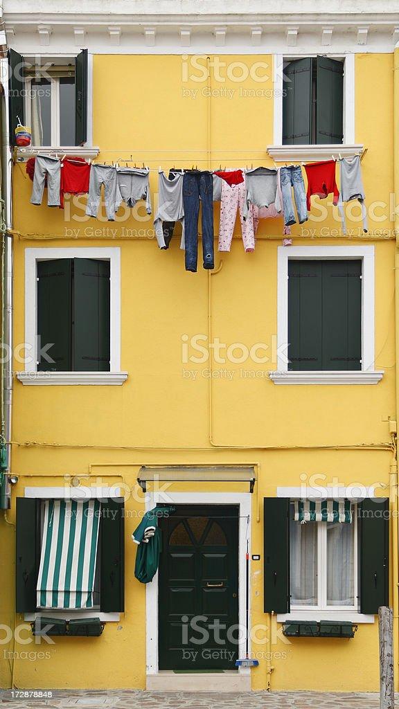 Colorful Burano royalty-free stock photo