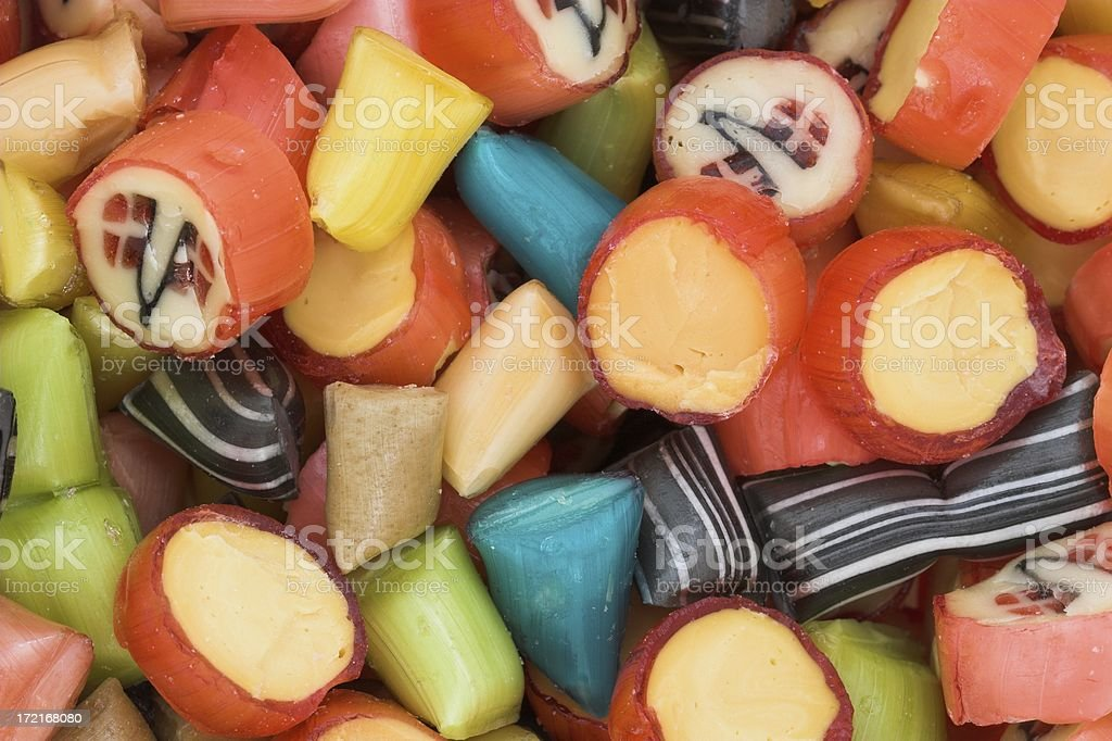 Colorful candies royalty-free stock photo