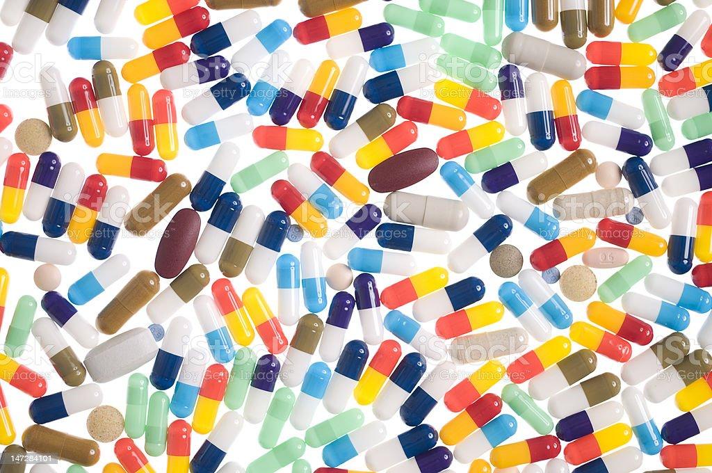 Colorful Capsules stock photo