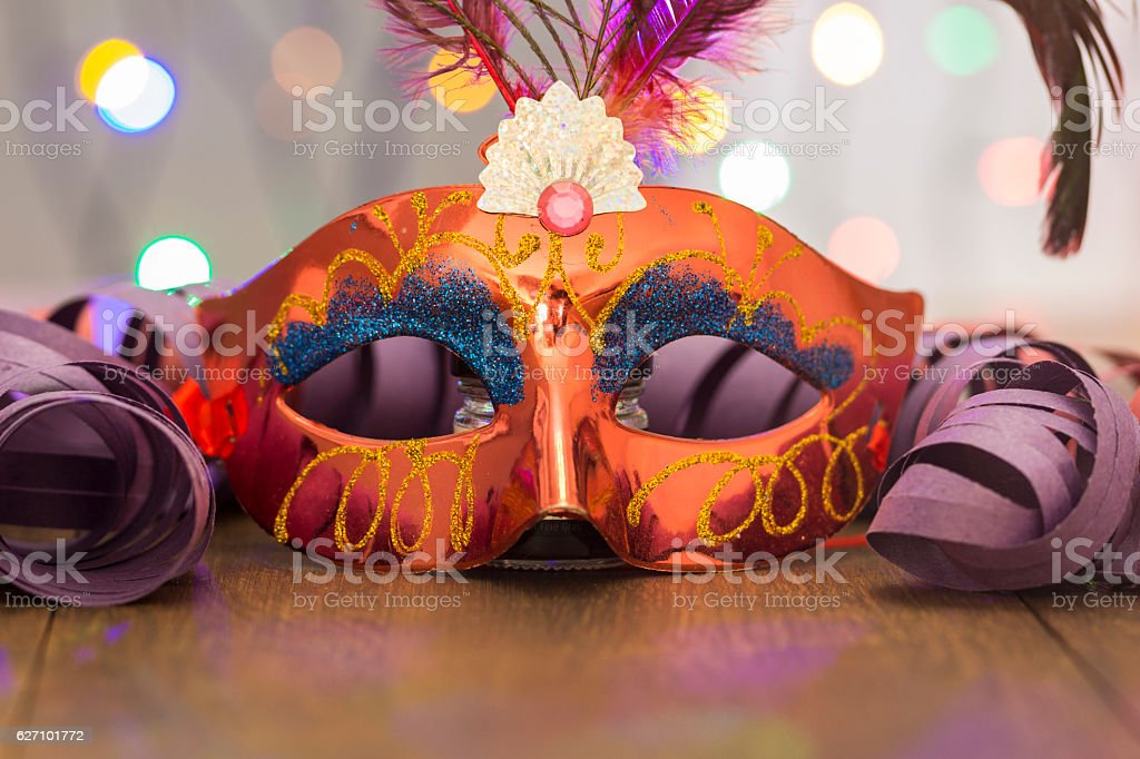 Colorful carnival background stock photo
