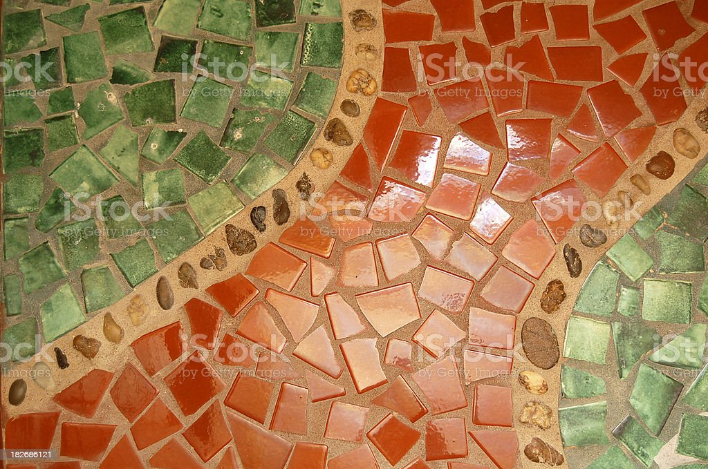 colorful ceramic tile background royalty-free stock photo