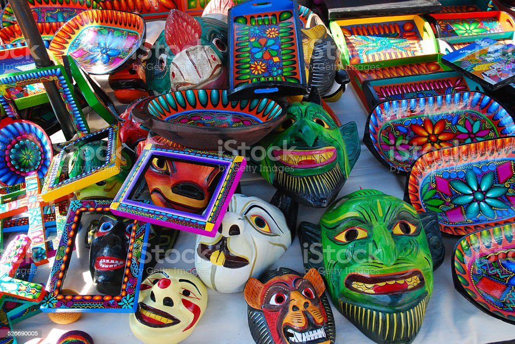 Colorful Ceramics on Display royalty-free stock photo